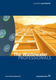 The Wastewater PROFESSIONALS - Grundfos