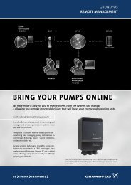 Bring your pumps online - Grundfos