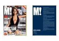 Advertising Material Advertising Control ... - Benjamin Media