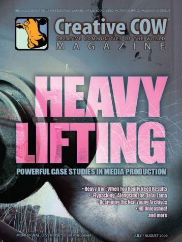 Need heavy lifting? - Creative COW Magazine