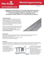Heltre benkeplater - Byggma
