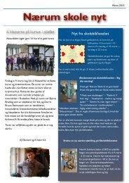 Marts 2012 - Nærum Skoles hjemmeside