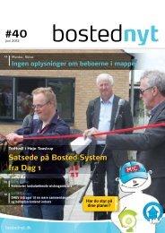 Satsede på Bosted System fra Dag 1 - PressWire