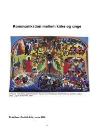 Kommunikation mellem kirke og unge - Kundby Sogn