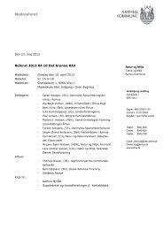Referat af møde i Det Grønne Råd den 4. april 2013 (pdf ... - Aarhus.dk