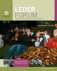 Lederforum nr. 3 2005 - KFUK-KFUM-speiderne