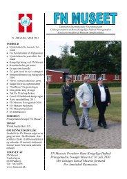 . FN Museets Protektor Hans Kongelige Højhed Prinsgemalen ...