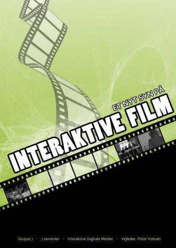 Teori: Interaktive Film - Goedhart