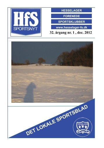 December 2012 - Hesselager FS