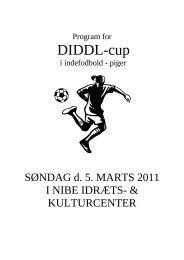Program for - Nibe Boldklub