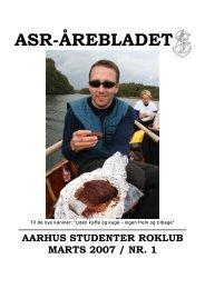 Årebladet 07.1 (fylder 1.66mb) - ASR - Aarhus Studenter Roklub