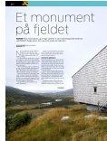 Reportage fra moderne monument på fjeldsiden i Norge ... - Dinesen - Page 2