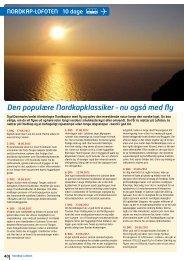 Den populæ re Nordkapklassiker – nu også med fly - Nilles Busser