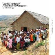 læs nina nordentoft rejseindtryk fra Madagaskar - Tønder Kristkirke