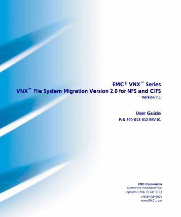 Emc vnx for block command line
