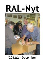 RAL-Nyt 2012:2 - December - Ribe Amts Lokalarkiver