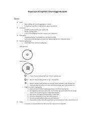 Disposisjon til kapittel 1 Grunnleggende kjemi