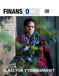 Last ned Finansfokus 08/11 som PDF - Finansforbundet