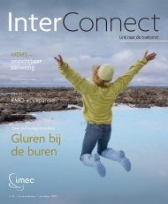 Inter Connect - Imec