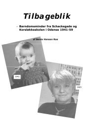 første udgave - Website for Bente Roe