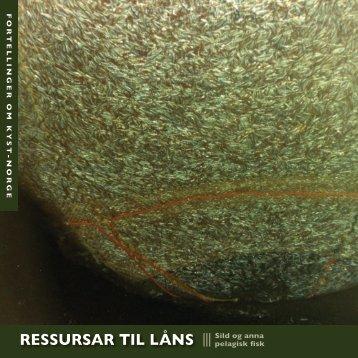 RESSURSAR TIL LÅNS - Fortellinger om kyst-Norge