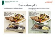 Se billedemateriale på frokost eksempel 3 - Altomkost.dk