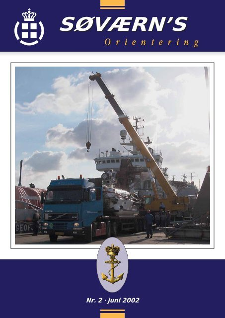 Søværnsorientering nr. 2 / 2002 - Marinehistorisk Selskab og ...