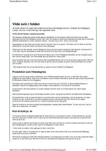 Vilde svin i folden - Per Henrik Hansen