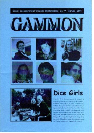 Dice Girls - Dansk Backgammon Forbund
