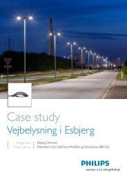 LED-belysning i Esbjerg - Philips