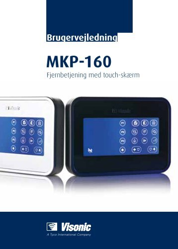 D-303799 MKP-160 Installationsvejledning - Visonic