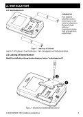 D-303799 MKP-160 Installationsvejledning - Visonic - Page 5