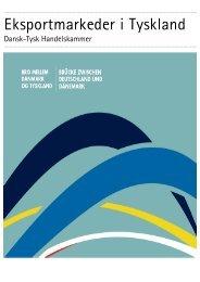 Eksportmarkeder i Tyskland - Deutsch-Dänische Handelskammer