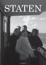 Oktober 2004, årgang 7, nr. 1 - STATEN