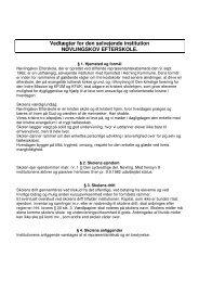 Download skolens vedtægter - Nøvlingskov Efterskole