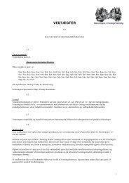Vedtægter pr. 25.februar 2004 - Baunevejens grundejerforening