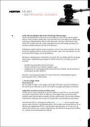Få ret og pengene i kassen (pdf) - Horten
