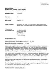 Afgørelse 2009-0142, 7. december 2009 - S-tog - Ankenævnet for ...