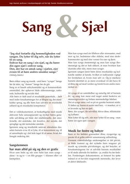 Sang Sjæl - Kirken Underviser