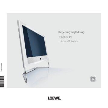 Betjeningsvejledning Tilbehør TV - Loewe