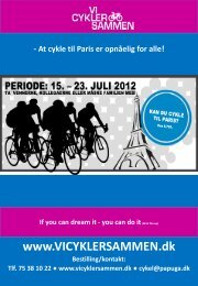 At cykle til Paris er opnåelig for alle! - Vi cykler sammen