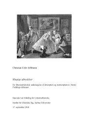 Definition og historisk rids af begrebet tableau - Aarhus Universitet