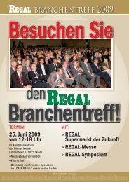 branchentreff 2009 - Regal