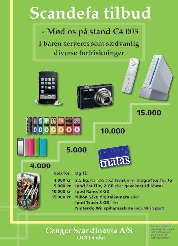 Scandefa tilbud - Cenger Scandinavia A/S