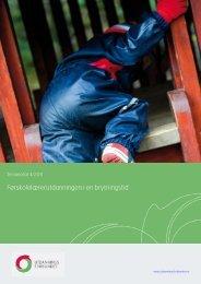 Førskolelærerutdanningen i en brytningstid - Utdanningsforbundet