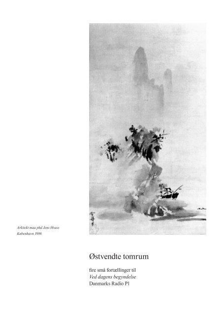 Østvendte tomrum - Jens Hvass