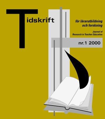 Ladda ner utgåvan. - Fakultet för lärarutbildning - Umeå universitet