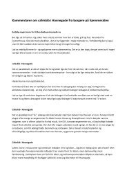 Borgernes kommentarer - Indre By Lokaludvalg