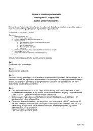 skolebestyrelsesmøde den 27. august 2009 - Lysbro ...