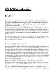 BIK LØB Introducerer: Barfodsløb. - Bremdal IK